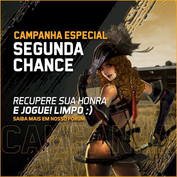 Campanha Especial: Segunda Chance
